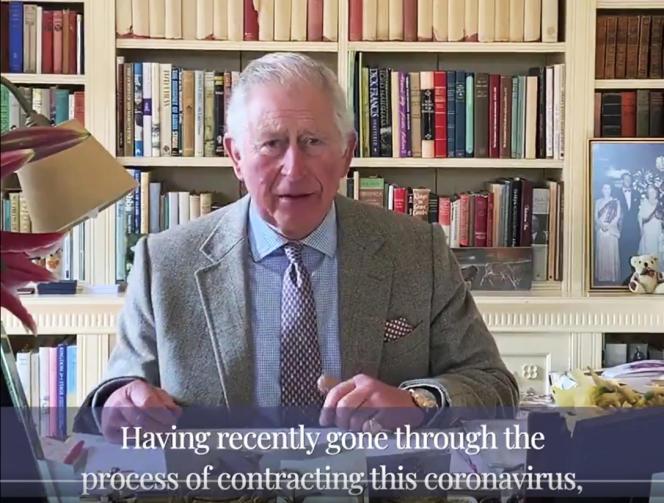 Le prince Charles s'est exprimé dans une vidéo, à l'occasion de sa sortie de quarantaine, une semaine après avoir été malade d'une forme légère du Covid-19.