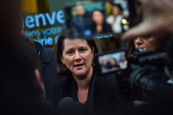 Johanna Rolland, maire de Nantes, le 17 décembre 2019.