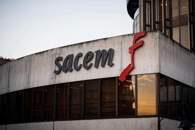 Les locaux de la SACEM.