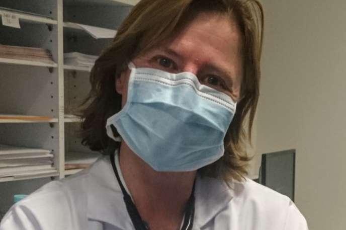 Véronique Manceron, interniste-infectiologue, hôpital Max-Fourestier, Nanterre (Hauts-de-Seine).