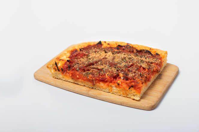La pizza sfincione.