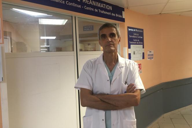 Michel Carles, chef du service de la réanimation du CHU de la Guadeloupe.