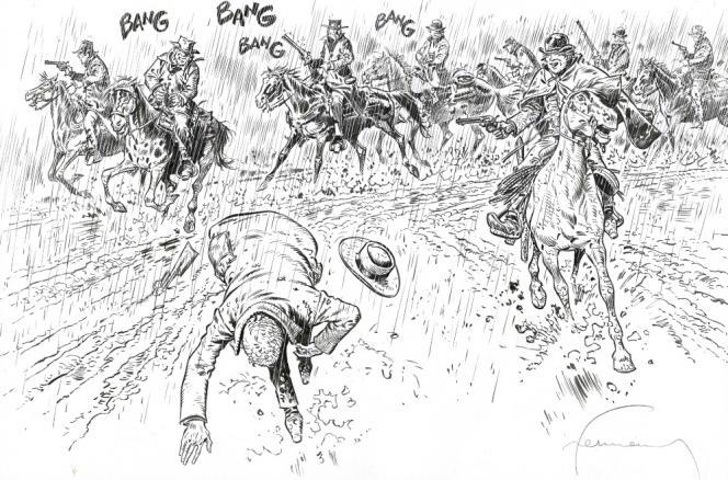 Extrait du premier tome de la série «Comanche», d'Hermann et Greg.
