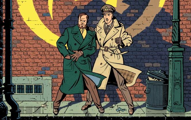 «La Marque Jaune», une aventure de Blake et Mortimer, par Edgar-Pierre Jacobs.