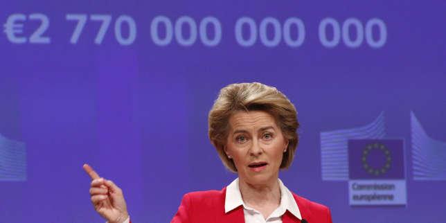 Ursula von der Leyen: «Cette solidarité est au cœur même de l'Europe et c'est ce qui va lui permettre de renaître»