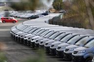 Usine PSA de Vauxhall, au Royaume-Uni, le 16 mars 2020.