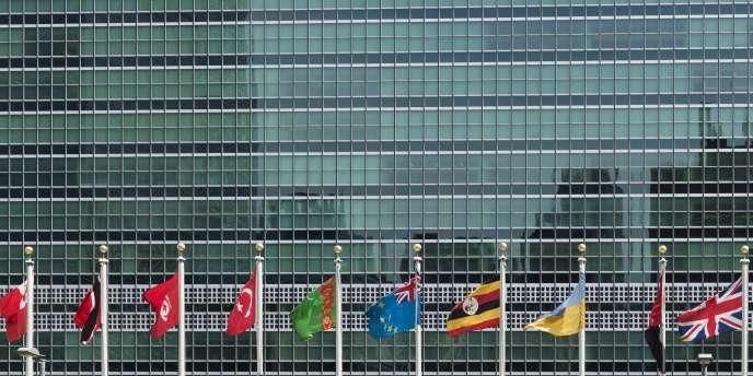 Le siège des Nations unies à New York, aux Etats-Unis.