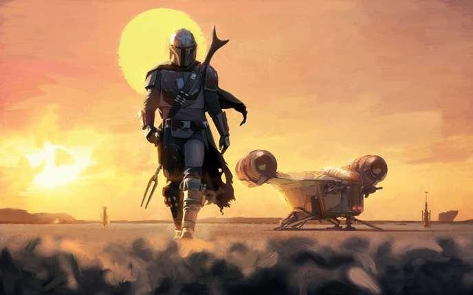 La série«The Mandalorian», déclinaison de l'univers«Star Wars».
