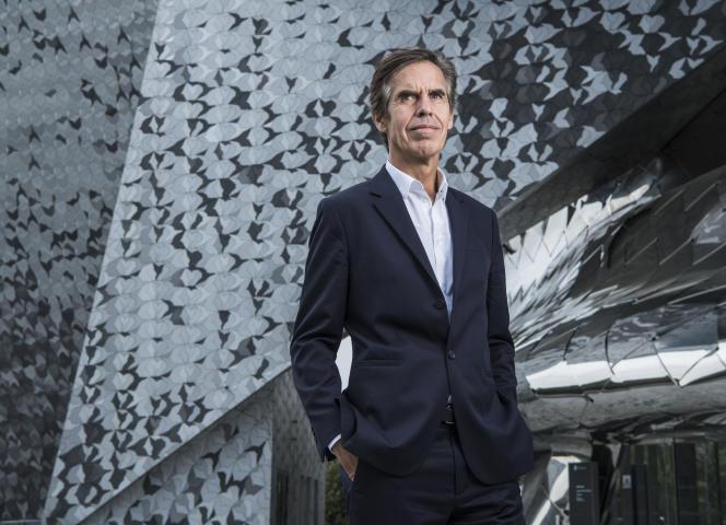 Laurent Bayle devant le bâtiment de la Philharmonie, à Paris, le 18 septembre 2018.