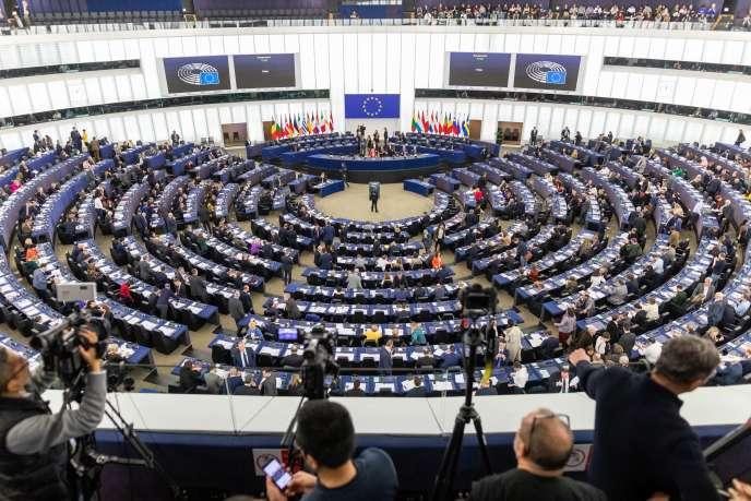 «Avec cette crise, une certaine idée de la mondialisation disparaît»Photo : Le parlement européen, en séance, à Strasbourg 12 février 2020.