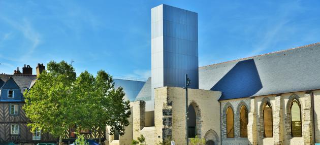 Le couvent des Jacobins, à Rennes.