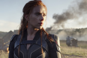 Scarlett Johansson dans « Black Widow », film de l'univers Marvel.