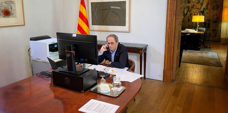 En Catalogne, une lutte contre le coronavirus… et « l'Etat espagnol »