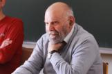 Le sociologue Jean-Claude Chamboredon, à l'ENS, à Paris, en 2015.