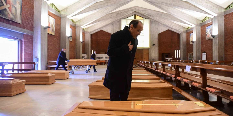 Italie : à Brescia, les morts cachés du coronavirus