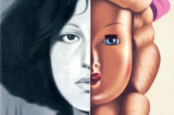 La couverture du Folio de 1983, inspiré (à gauche) d'une photo de Francesca Gee.