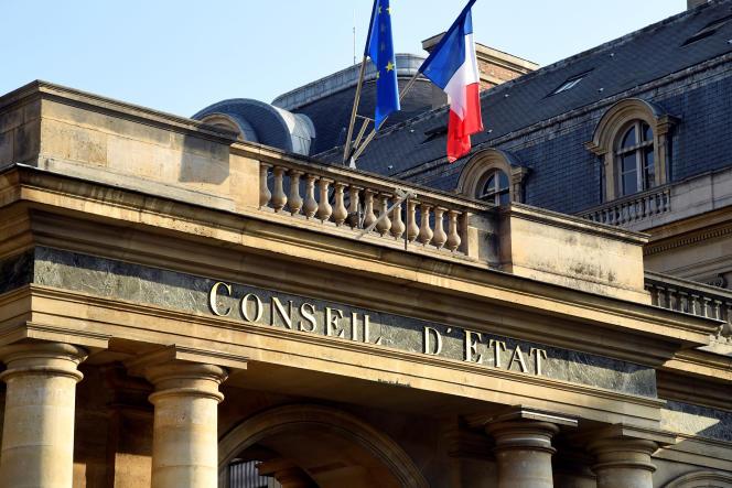 Le Conseil d'Etat, à Paris, en octobre 2018.