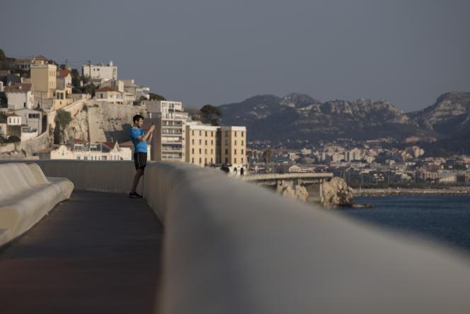 Le 4 avril, à Marseille.