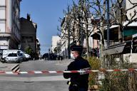 Dans les rues de Romans-sur-Isere, le 4 avril.