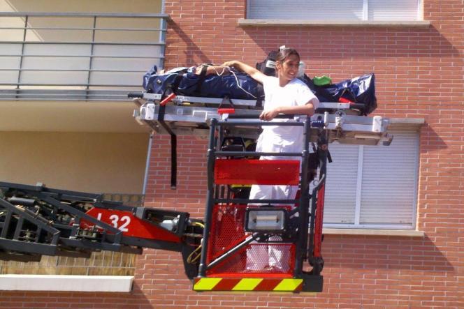 Julie Oudet, médecin urgentiste au SAMU de Toulouse (Haute-Garonne).