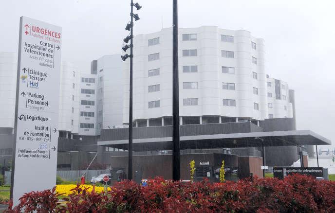 Le centre hospitalier de Valenciennes (Nord), en mai 2013.