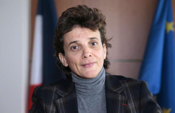 Marie-Laure Denis, la présidente de la CNIL, en 2013, à Paris.