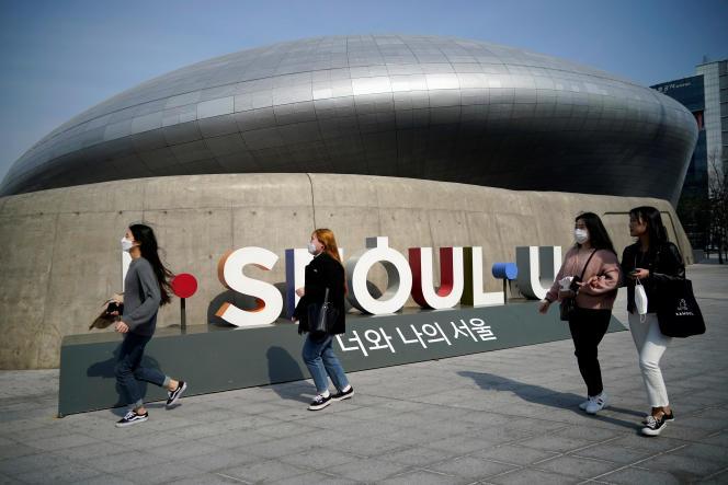 A Séoul, le 25 mars.