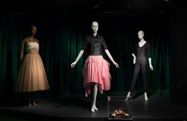 Insallation pour l'exposition« Ballerina» au FIT Museum de New York.
