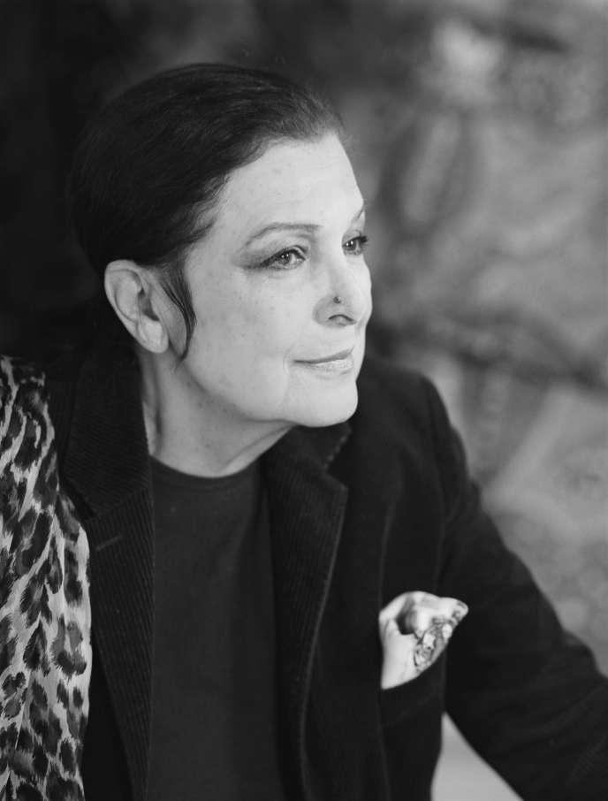 Leïla Menchari, en 2010.