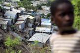 Des bidonvilles à Mamoudzou, à Mayotte, en octobre 2011.