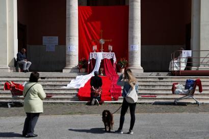 A Rome, le 6 avril.