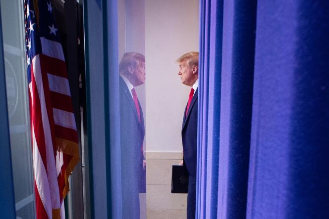 Le président américain Donald Trump, à Washington, le 6 avril.