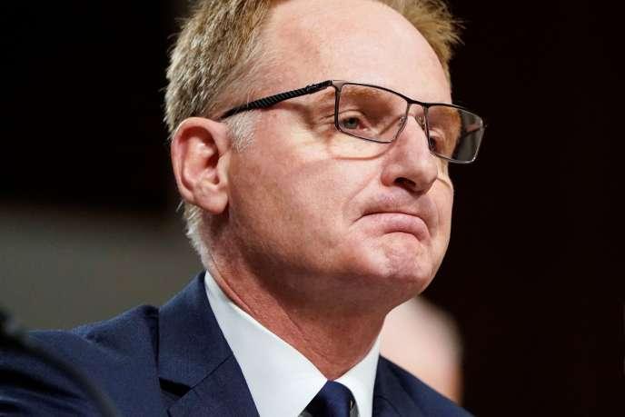 Thomas Modly, le 3 décembre 2019, à Washington.