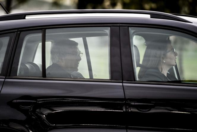 Le cardinal George Pell, à sa sortie de la prison de Barwon, au sud-ouest de Melbourne, le 7 avril 2020.