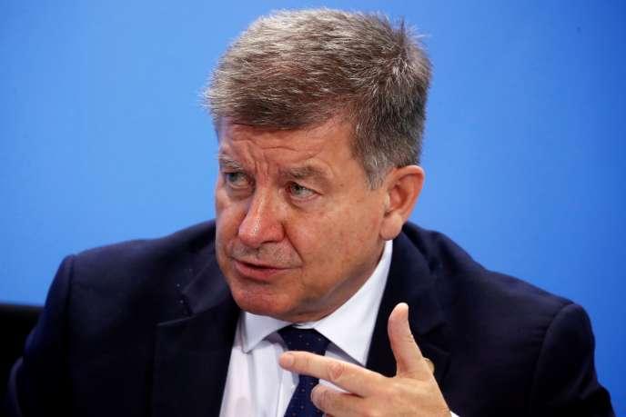 Guy Ryder, directeur général de l'Organisation international du travail, à Berlin, en octobre 2019.