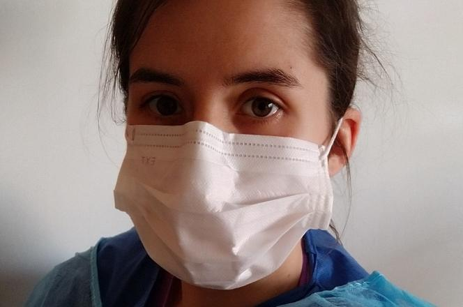 Ophélie Mauger, infirmière au CHU de Nantes.