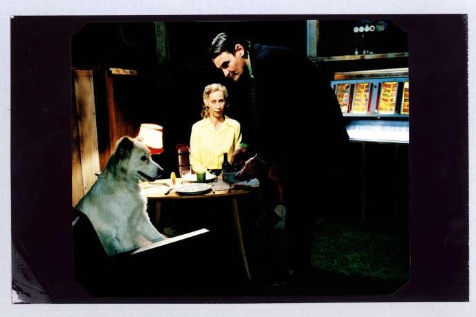 Kati Outinen et Markku Peltola, acteurs dans« L'Homme sans passé».