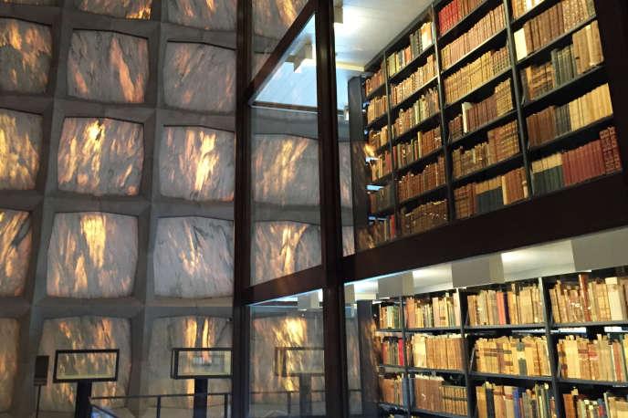 La bibliothèque Beinecke de livres rares et de manuscrits, sur le campus de l'université de Yale, à New Haven (Connecticut), le 9 septembre 2016.