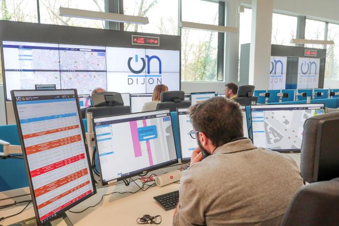 Le centre de pilotage OnDijon fonctionne depuis le mois d'avril 2019.