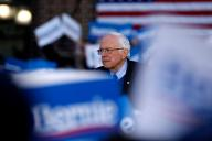 Bernie Sanders lors d'un meeting dans le Michigan, le 8mars2020.