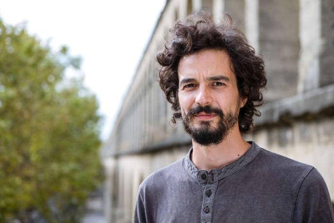 Pablo Servigne, auteur et chercheur, créateur avec Raphaël Stevens du concept de collapsologie, à Montpellier, en octobre 2018.