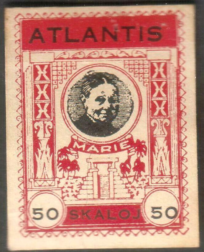 Pseudo-timbre d'Atlantis des années 1930.