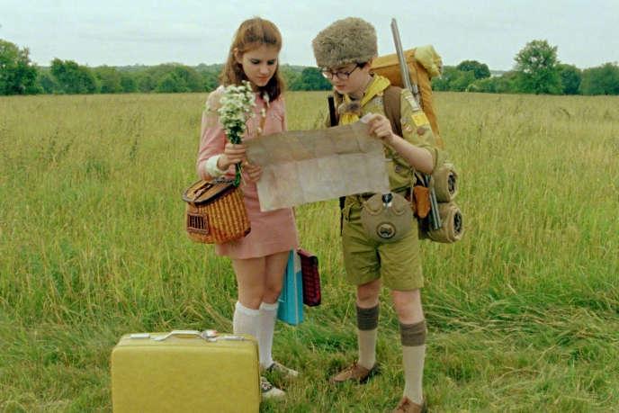 Kara Hayward etJared Gilman dans«Moonrise Kingdom» (2012),de Wes Anderson.