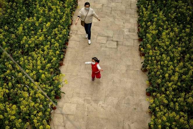 A Jiujiang, en Chine, le 16 mars.