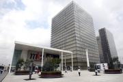 Le complexe cinématographique MK2 de la Bibliothèque nationale François- Mitterrand, à Paris.