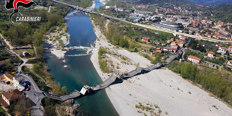 Italie : déserté pendant le confinement, un pont s'écroule en Toscane sans faire de morts
