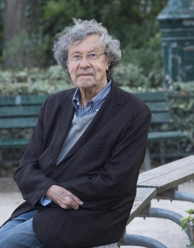 L'historien Jacques Le Brun, le 1eroctobre 2018.