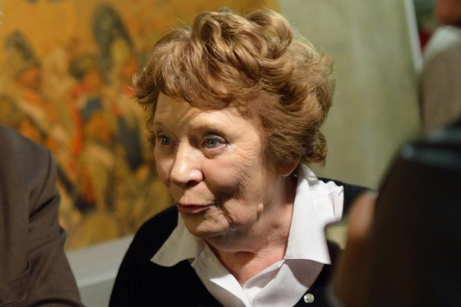 Liliane Marchais, le 19 novembre 2012, au siège du PC, à Paris.