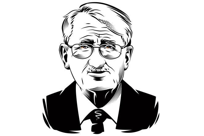 Le philosophe allemand Jürgen Habermas.