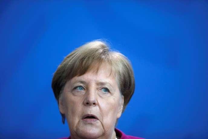 La chancelière allemande Angela Merkel, le 9 avril à Berlin.